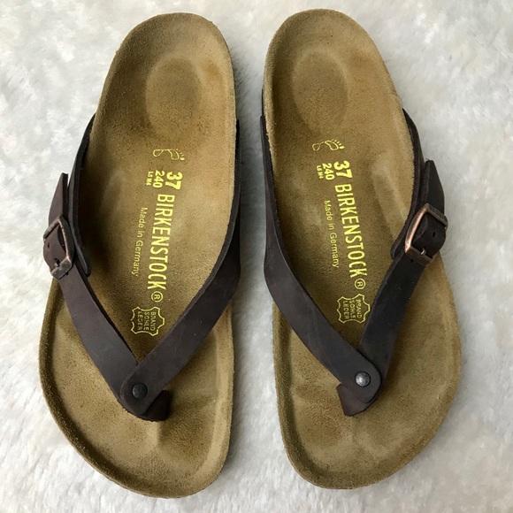 323ef80b49d Birkenstock Waxy Leather Habana Adria Sandals NWT